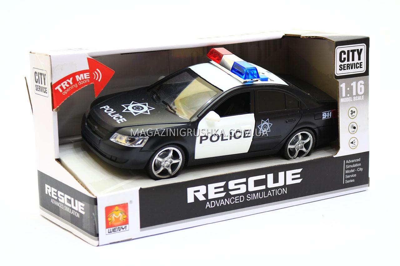 Машина дитяча «Поліцейський автомобіль (звук, світло) WY560B