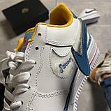 Женские кроссовки Nike Air Force 1 Swoosh Chain Pack, женские кроссовки найк аир форс 1, фото 5