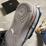 Женские кроссовки Nike Air Force 1 Swoosh Chain Pack, женские кроссовки найк аир форс 1, фото 9