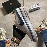 Женские кроссовки Nike Air Force 1 Swoosh Chain Pack, женские кроссовки найк аир форс 1, фото 2