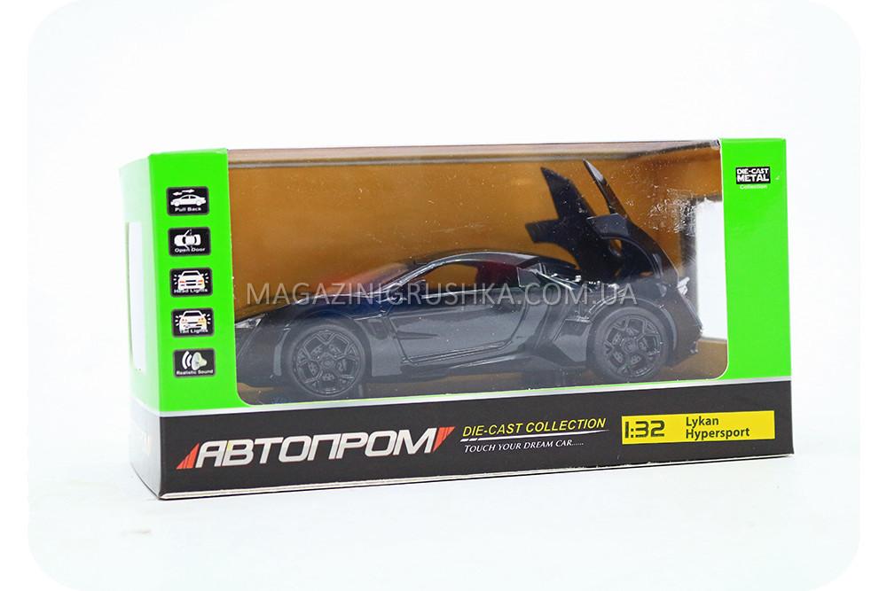 Машинка игровая автопром «Lykan Hypersport» Черная 32013