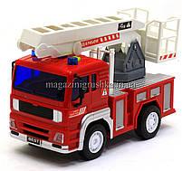 Машинка игровая автопром «Пожарная машина» (свет, звук) 7815, фото 2