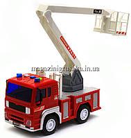 Машинка игровая автопром «Пожарная машина» (свет, звук) 7815, фото 4