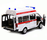 Машинка игровая автопром «Скорая помощь» (свет, звук) 7808, фото 3
