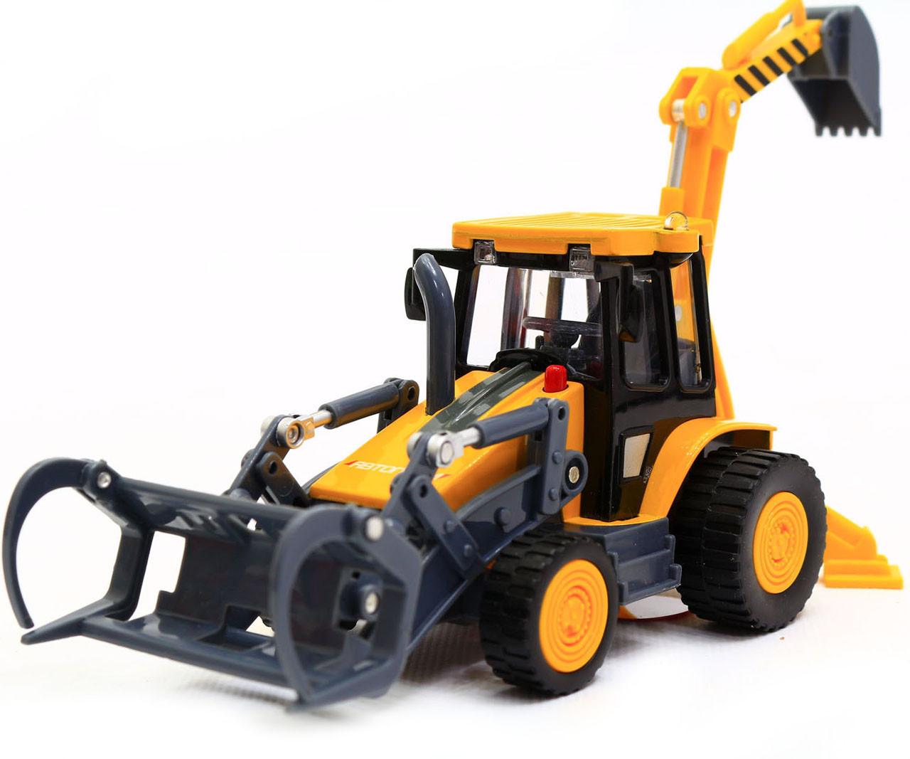 Машинка игровая автопром «Трактор с ковшом» 7764