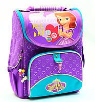Рюкзак школьный каркасный Принцесса София «1 вересня» 553269, фото 1