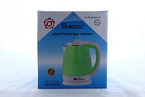 Чайник Domotec MS 5025 Зелений 220V/1500W