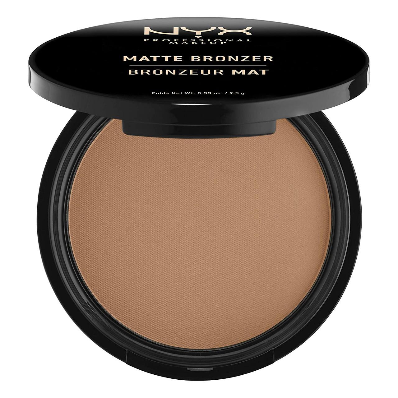 Матирующий бронзатор для лица и тела NYX Professional Makeup Matte Bronzer Medium