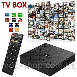 Смарт приставка TV Box HK1 Mini Android 2гб/16 гб Smart TV (смарт ТБ приставка на андроїд) + 3 місяці Sweet TV