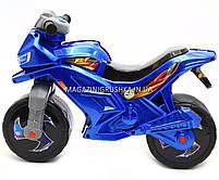 Детский Мотоцикл толокар Орион музыкальный (синий). Популярный транспорт для детей от 2х лет, фото 3