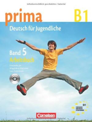 Prima-Deutsch fur Jugendliche 5 (B1) Arbeitsbuch+CD