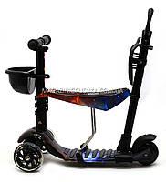 Детский самокат-беговел 5в1 63020 Best Scooter, фото 4