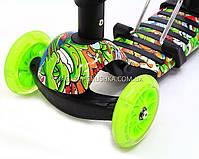 Детский самокат-беговел 5в1 65040 Best Scooter, фото 2