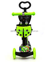 Детский самокат-беговел 5в1 65040 Best Scooter, фото 3