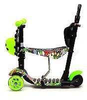 Детский самокат-беговел 5в1 65040 Best Scooter, фото 4