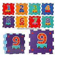 Игровой коврик-мозаика «Вагончик с рисунками» M 2614, фото 3