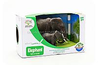Фигурки «Королевство животных» - Семейство слонов