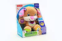 Фирменная интерактивная игрушка «Сестричка умного щенка» Fisher-Price ( укр. яз) DKK15, фото 1