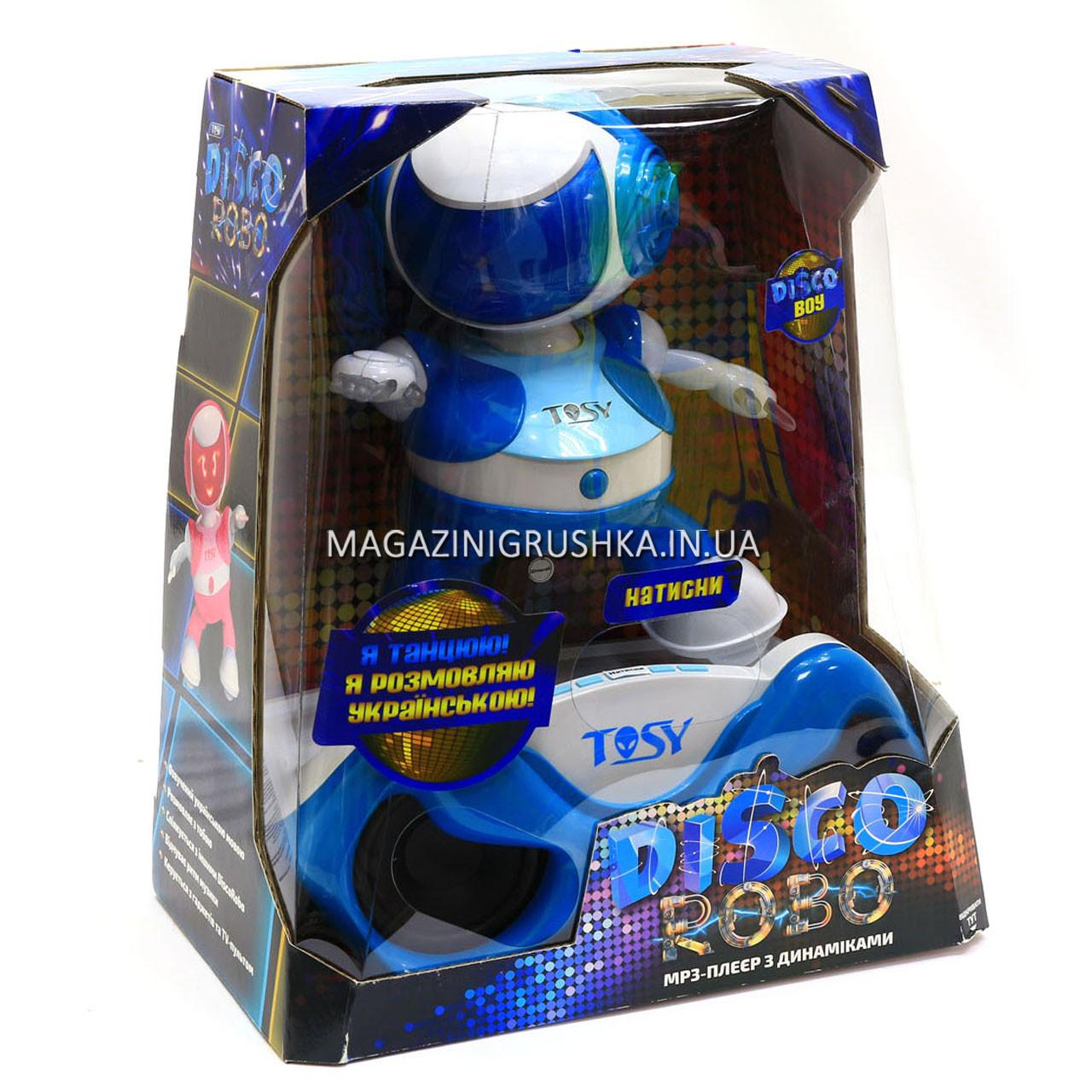 Набор с интерактивным роботом TOSY Robotics DiscoRobo Лукас Диджей TDV107-U