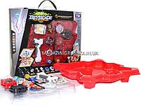 Игровой набор БейБлейдов (Beyblade) с ареной (4 блейд, запускатель, ручка, арена), фото 2