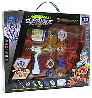 Игровой набор БейБлейдов (Beyblade) с ареной (4 блейд, запускатель, ручка, арена), фото 8
