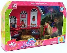 Игровой набор Куколка с лошадкой K899-55