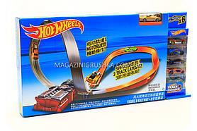 Игровой трек «Hot wheels» - Гоночная трасса и 6 машинок mattel X2586