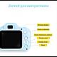 Детский цифровой фотоаппарат Kids Camera GM14 с записью видео Синий, фото 3