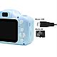 Детский цифровой фотоаппарат Kids Camera GM14 с записью видео Синий, фото 4