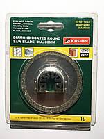 """Пильный диск с круглым алмазным покрытием, диаметр 80 мм (3-1 / 8 """")"""