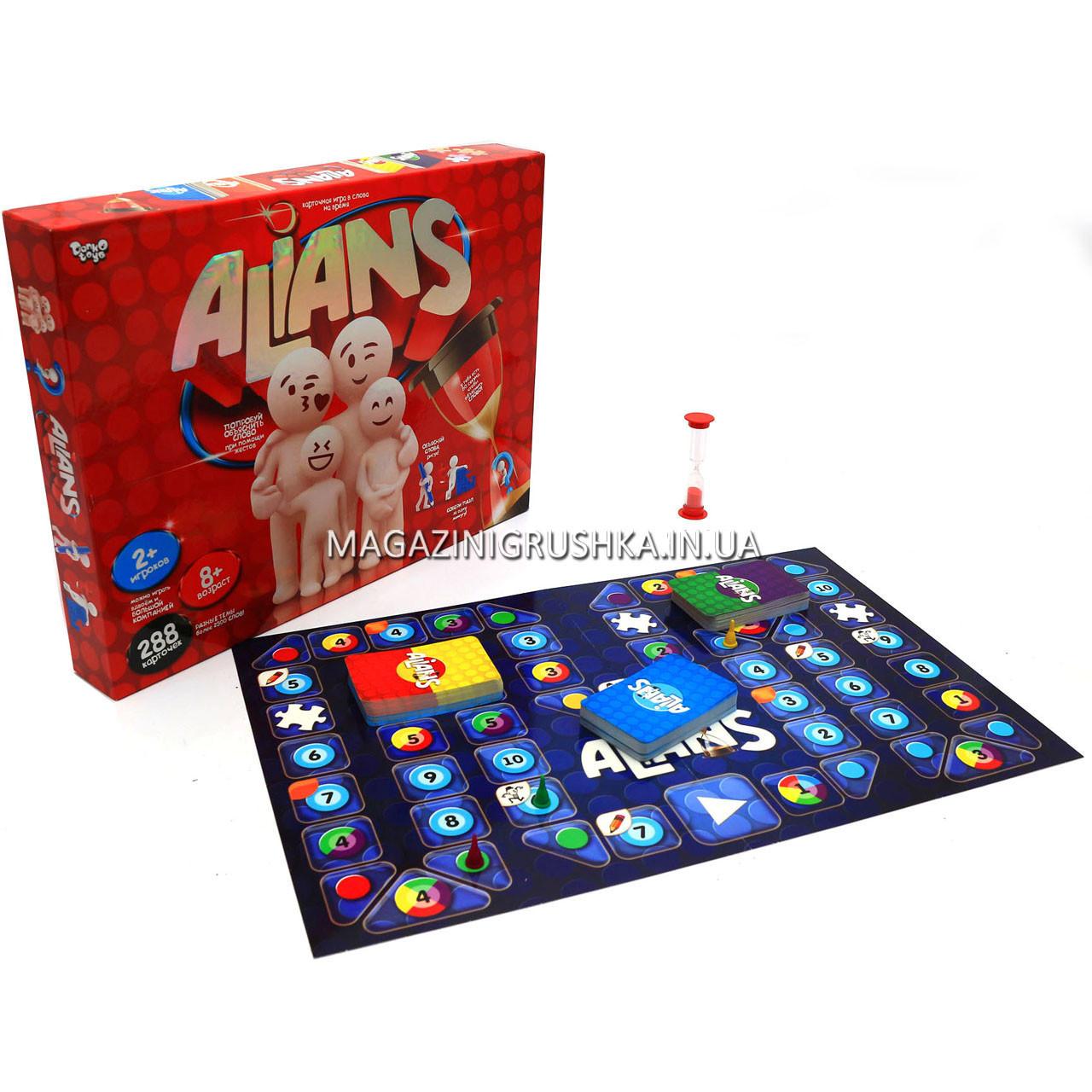 Настольная игра Пойми меня Alians G-ALN-01