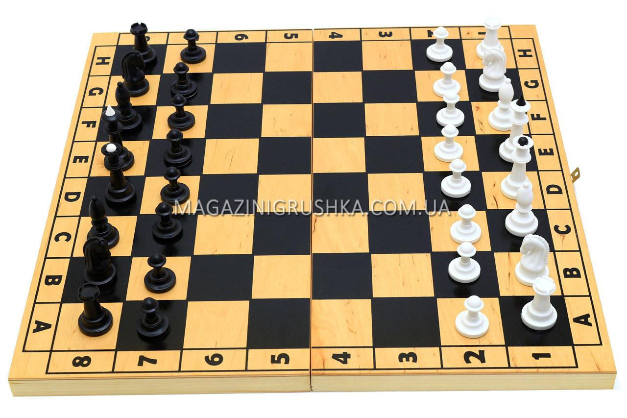 Настольная игра Шахматы (деревянные) 172048