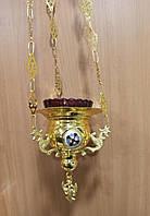 Лампада подвесная широкая (Греция)
