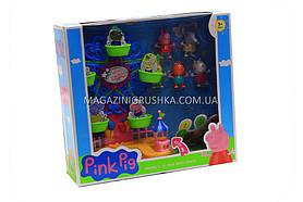 Игрушечный набор «Свинка Пеппа» (карусель, подсветка, звук)