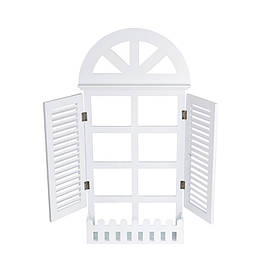 Декор Окно в Европу с подставкой для цветов SKL11-208261