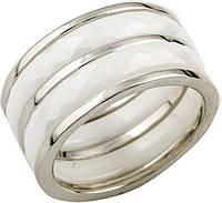 Серебряное кольцо SilverBreeze с керамикой (0482057) 18.5 размер