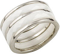 Серебряное кольцо SilverBreeze с керамикой (0482057) 16.5 размер