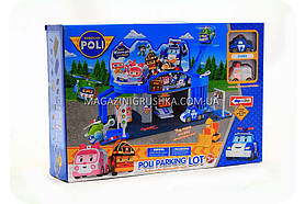 Паркування-гараж іграшковий «Robocar Poli» - (2 машинки) XZ-312