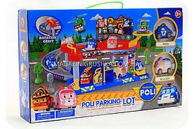 Паркування-гараж іграшковий «Robocar Poli» - (2 машинки) XZ-313
