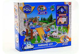Паркування-гараж іграшковий «Robocar Poli» - (2 машинки) XZ-322