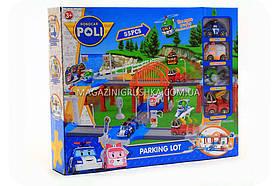 Паркування-гараж іграшковий «Robocar Poli» - (4 машинки) XZ-323