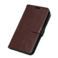 Чехол книжка для телефона Xiaomi Redmi note 5А коричневый