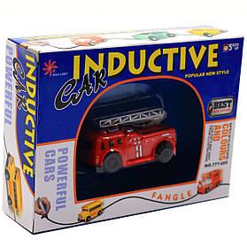 Индукционная (индуктивная) машинка Gold Light пожарная 8*3*5 см (777-005E)