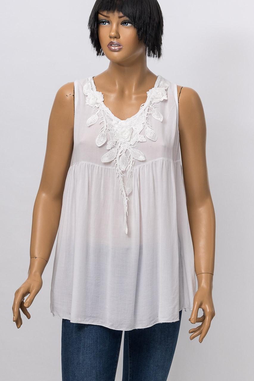 Блуза женская MISS ONLY 88616 (15) WHITE