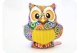 Подушка игрушка мягконабивная для ребенка «Сова»