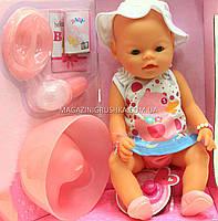 Интерактивная кукла Baby Born (беби бон). Пупс аналог с одеждой и аксессуарами 9 функций беби борн 8006-462, фото 3