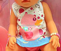 Интерактивная кукла Baby Born (беби бон). Пупс аналог с одеждой и аксессуарами 9 функций беби борн 8006-462, фото 4