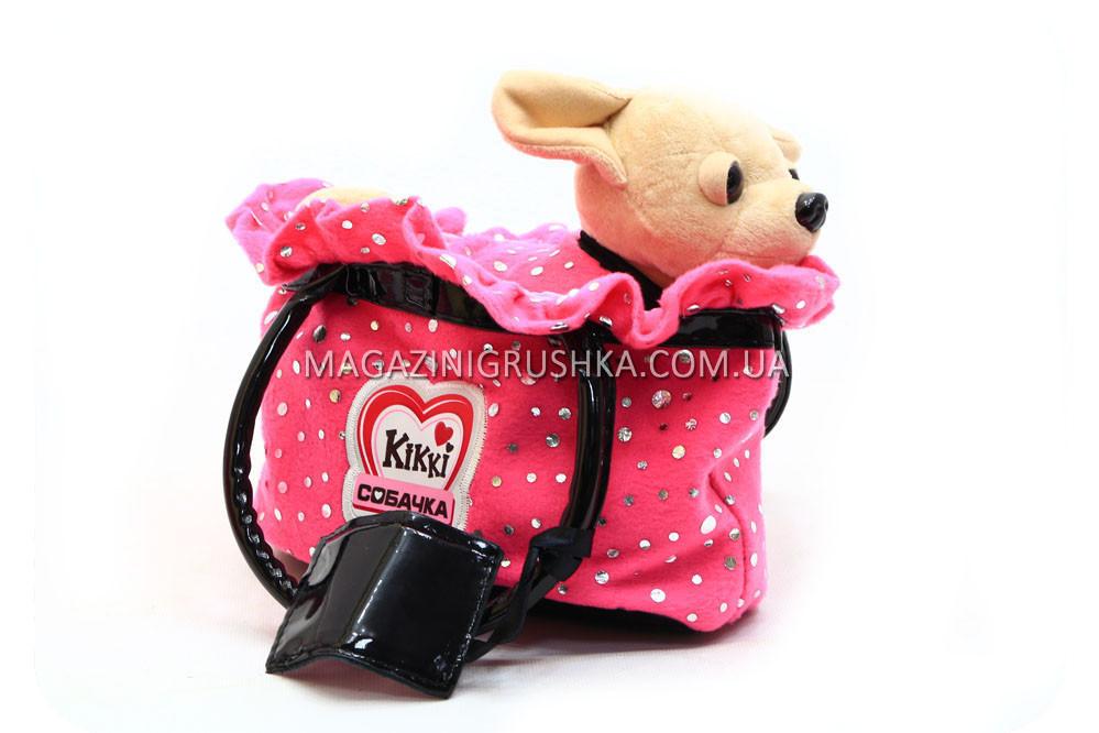 Интерактивная музыкальная игрушка «Гламурная собачка Кикки» M 3651