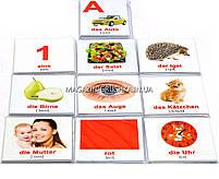 Развивающая игра Карточки Домана немецко-русский чемоданчик «Вундеркинд с пеленок» - 10 наборов арт. 155512, фото 3