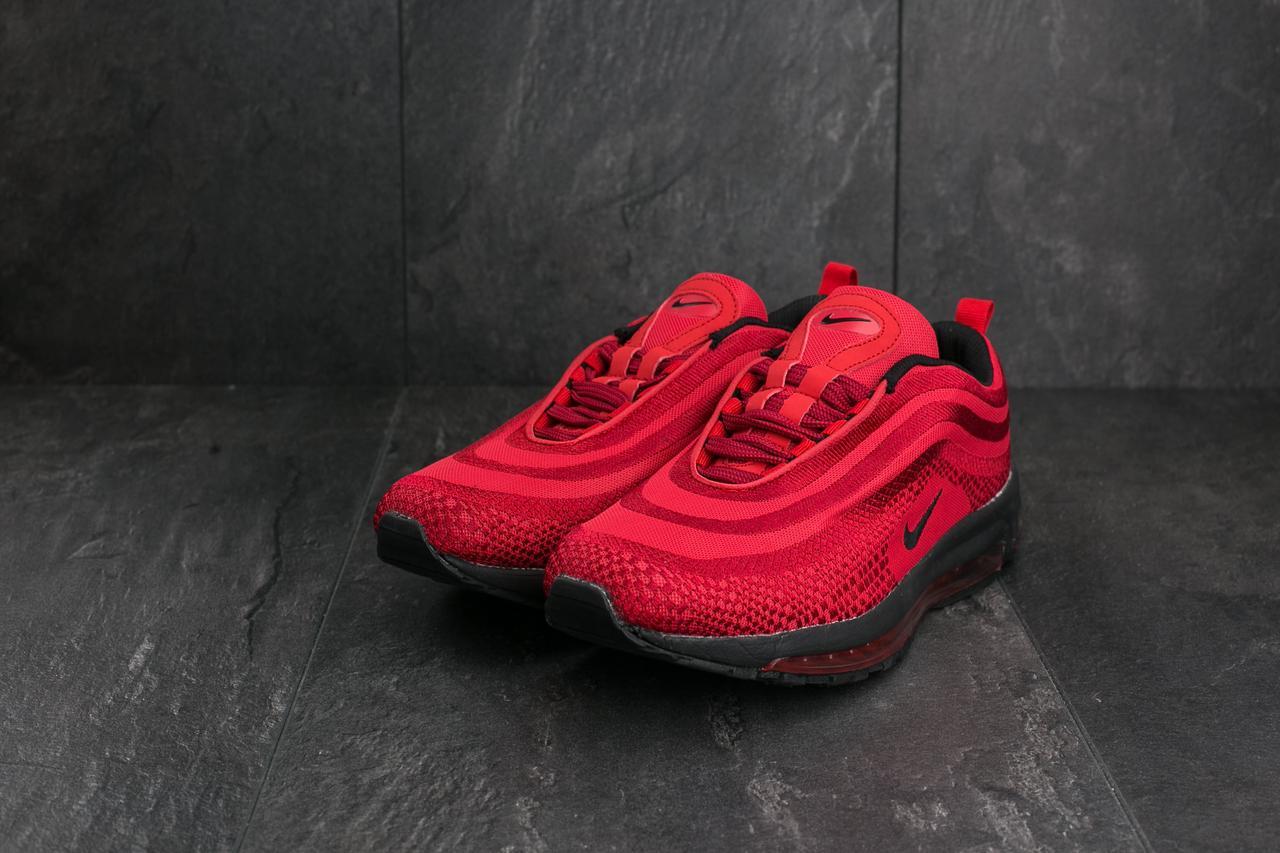 Чоловічі кросівки текстильні весна/осінь червоні Ditof A 345 -8